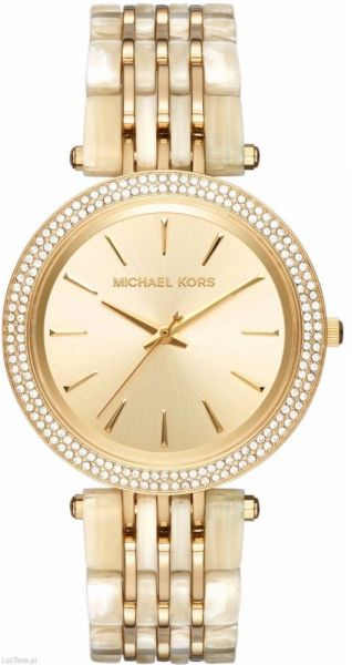 860a687a2002 Michael Kors Darci Women s Gold Dial Stainless Steel Band -MK4325