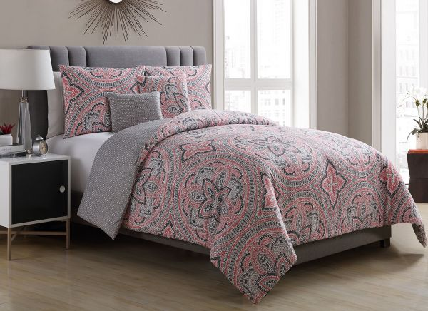 linea products comforter medallion bedding and bed pbteen sham m