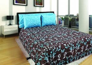 GRZ King Plus Size, Egyptian Cotton,Print Pattern, Multi Color   Bed Sheets