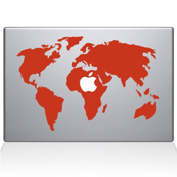 Souq the decal guru world map macbook decal vinyl sticker 13 souq the decal guru world map macbook decal vinyl sticker 13 macbook air orange 0194 mac 13a p uae gumiabroncs Gallery