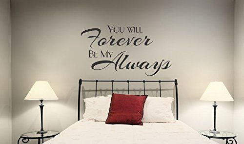 Souq | Wall Decor Plus More WDPM3899 Wall Decal You Will Forever Be ...