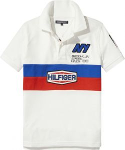 Tommy Hilfiger Polo For Boys - White