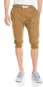 5cc72f2788dd Southpole Active Men s Jogger Capri Pants Basic Solid Colors in 3 4 Length