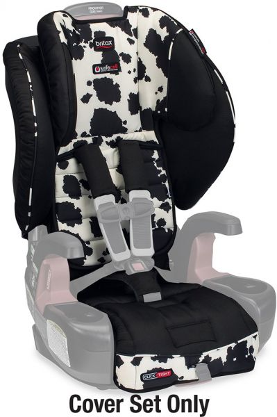 Britax Frontier ClickTight Harness 2 Booster Car Seat Cover Set Cowmooflage