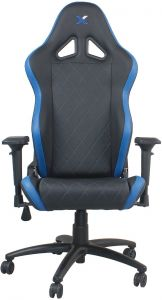 Marvelous Ferrino Line White On Black Diamond Patterned Gaming And Lifestyle Chair By  RapidX