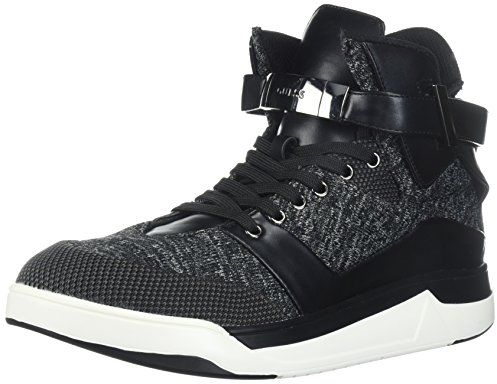 Guess Lace Up Boots for Men - Black & White