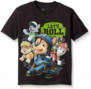 Paw Patrol Little Boys Characters Short Sleeve T-Shirt 3010c4ae2