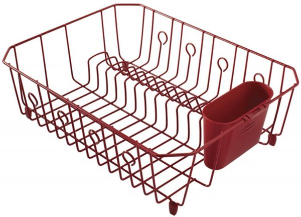 8a1407eac24 Rubbermaid AntiMicrobial In-Sink Dish Drainer