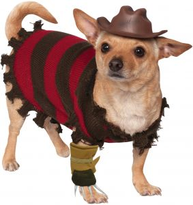 Rubies Costume Company A Nightmare on Elm Street Freddy Krueger Pet Costume X-Large Red 580052 XL  sc 1 st  Souq.com & Sale on movies freddy costume teen Buy movies freddy costume teen ...