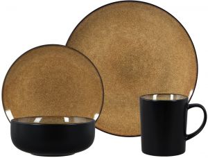 Sale on better homes and gardens jade crackle 16 piece dinnerware ...