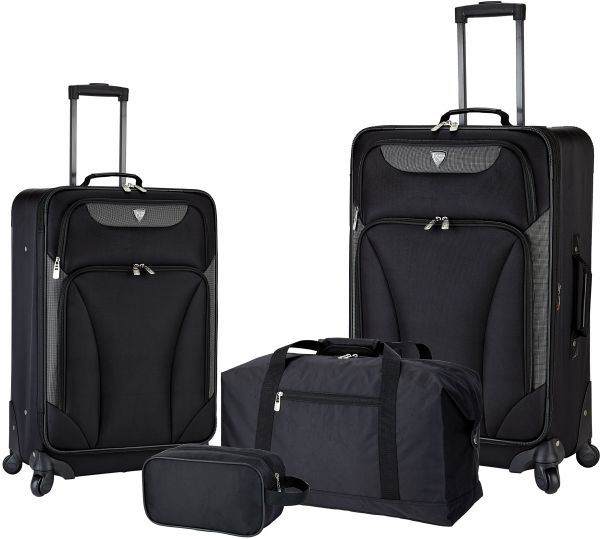 a4b7ec763f Travelers Club 4 Piece Travel Value Set Includes 25