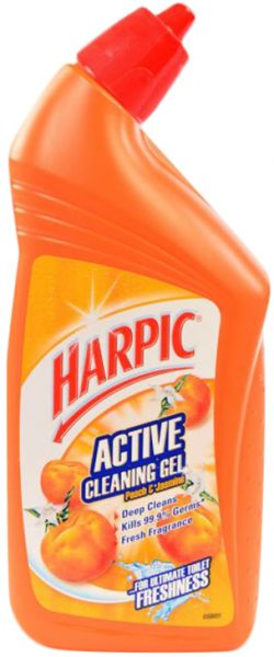 Harpic Active Cleaning Gel Peach And Jasmine 450 Ml Souq Uae
