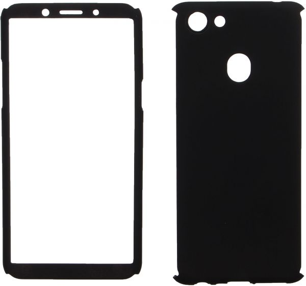 free shipping 17f9f 14268 360 Protect Case Full Cover For Oppo F5, Black