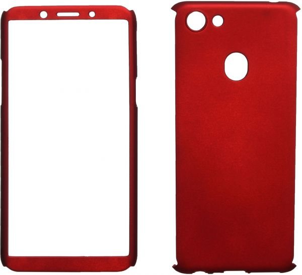 great fit 36d64 d4db5 360 Protect Case Full Cover For Oppo F5, Red