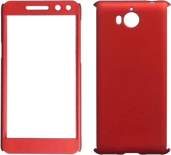 360 Full Cover For Huawei Y5 2017, Red