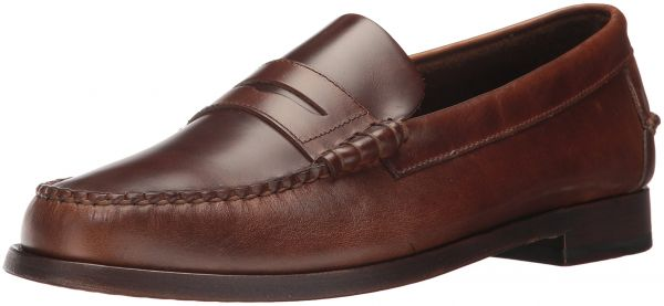 Sebago Men's Heritage Penny Men's Brown Leather Loafers In Size 43.5 E Brown WqHTbMCNYw