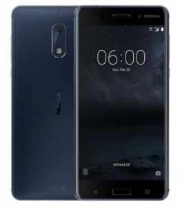 Nokia 6 Dual SIM - 64GB, 4GB RAM, 4G LTE, Tempered COPPER BLUE