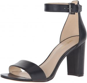 a065d4bf4a6f Sale on nine west womens demetria leather dress sandal protek black ...