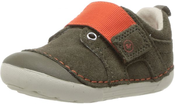 Stride Rite Soft Motion Cameron Sneaker, Olive, 3.5 M US Toddler