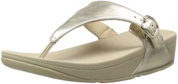 61581d050 FitFlop Women s The Skinny Leather Toe-Thong Sandal