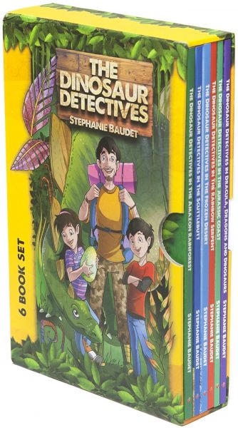 souq the dinosaur detectives six book collection uae