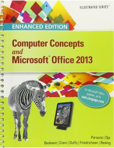 Bundle Enhanced Computer Concepts And Microsoft Office 2013 Illustrated SAM Assessment Training Projects With MindTap Reader For