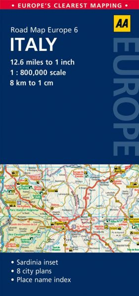 Road Map Italy Road Map Europe price review and buy in Dubai