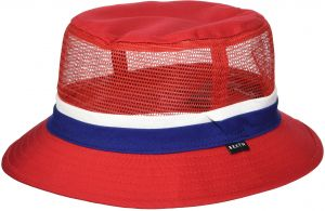 43174f39c3f Brixton Men s Hardy Short Brim Mesh Bucket Hat