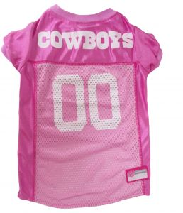 556c85e7630 Pets First Dallas Cowboys NFL Pink Mesh Jersey X-Small pink DAL-4019-XS
