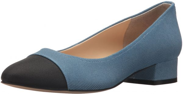Ivanka Trump Women's Larrie Pump, Blue/Multi, 8 M US