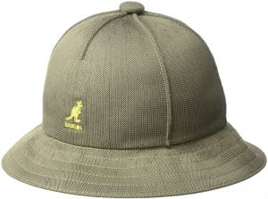 3e97ad3a4c0 Kangol Men s Tropic Casual Bucket Hat WIT Seam Details