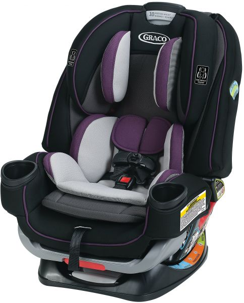 Graco 4Ever Extend2Fit 4 In 1 Convertible Car Seat Jodie One Size
