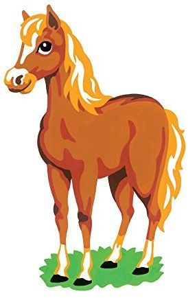 reeves color shape by numbers horse souq uae