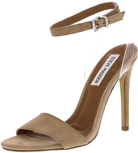 Steve Madden Lucid Pump Heel Sandals for Women - Tan