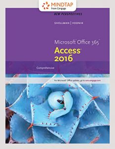 Bundle New Perspectives Microsoft Office 365 Access 2016 Comprehensive LMS Integrated MindTap Computing 1 Term 6 Months Printed Card