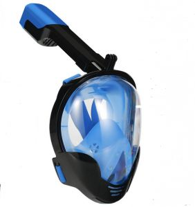 S/M Diving Mask Full face Spearfishing Snorkel Mask Scuba Silicone Plastic Swimming Mask M8018