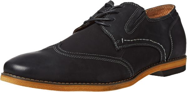 Steve Madden Wingtip Shoes for Men - Black