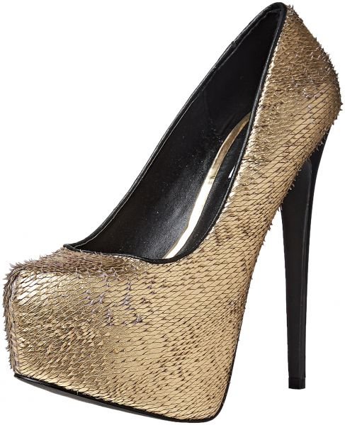 Steve Madden Heels for Women - Gold