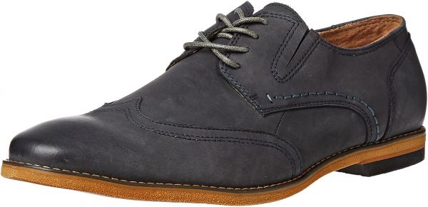 Steve Madden Wingtip Shoes for Men - Navy