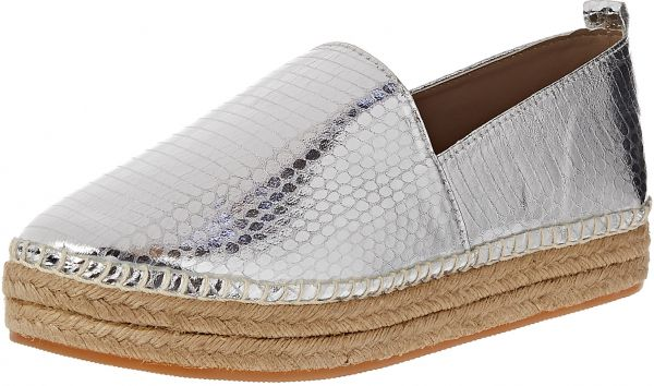 Steve Madden Slip On for Women - Silver