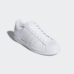 b129d0ca554ad2 Adidas Superstar 2 Leather Shoes Red Black Low Disbursement ...