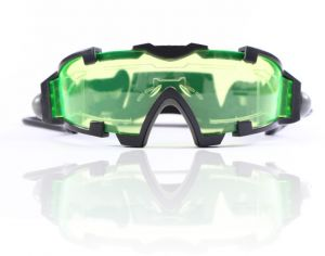 7c53ce38306 VIQILANY Green Lens Adjustable Windproof Night Vision Goggles Glasses Child  Eye Protect With LED Lights Dark Eyewear
