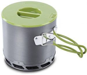 Portable Outdoor Tableware Camping Hiking traveling Cookware Cooking Picnic Non Stick Bowl Pot Pan Set