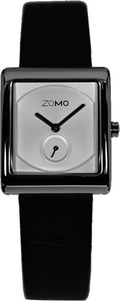 1fabbd44a9b ZOMO Aroma Womens Designer Watch-Analog Swiss Quartz Classic Watche-  Stainless Steel Rectangle Dress Watch with Silver Dial and Black Leather  Strap Silver ...
