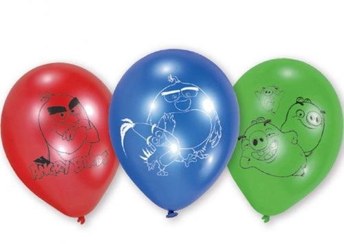 Souq Amscan Angry Birds Movie Latex Balloons 6 Pieces UAE