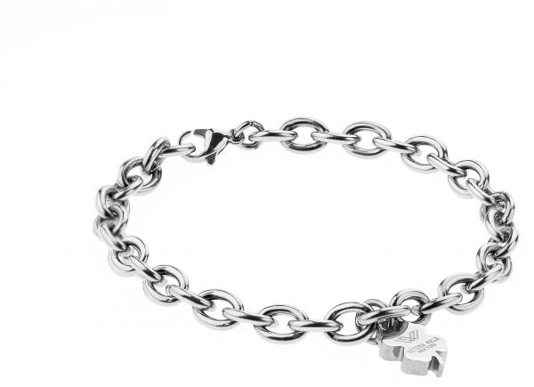 Victoria Walls Vb1043s Stainless Steel Chain Bracelet For Women