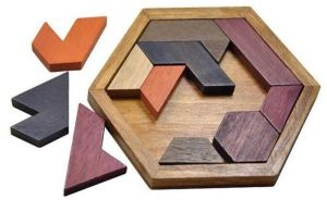 Sale on easter gift for kids buy easter gift for kids online at puzzles games wooden puzzle pieces 11 tangram jigsaw puzzle educational toy and gift to kids for birthdays easter christmasdiy present packing negle Image collections