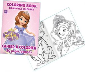 Amscan Disney Sofia The First Coloring Book