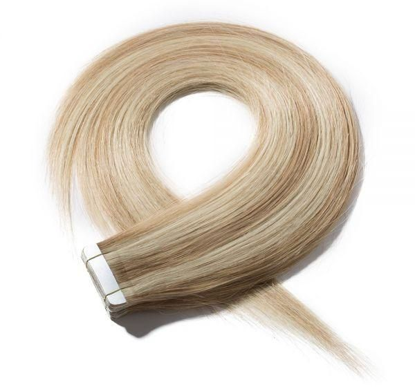 Souq 22 Inch Remy Tape In Human Hair Extensions 20pcs 50gpack