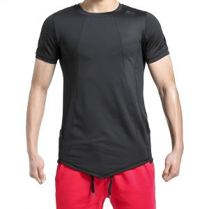 BROKIG Men s Athletic Muscle Compression T Shirt Quick Dry Gym Workout Tops  Tee (L 323bc023f